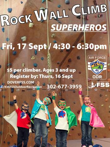 Rock Wall Climb 🦸♀️ Superhero!