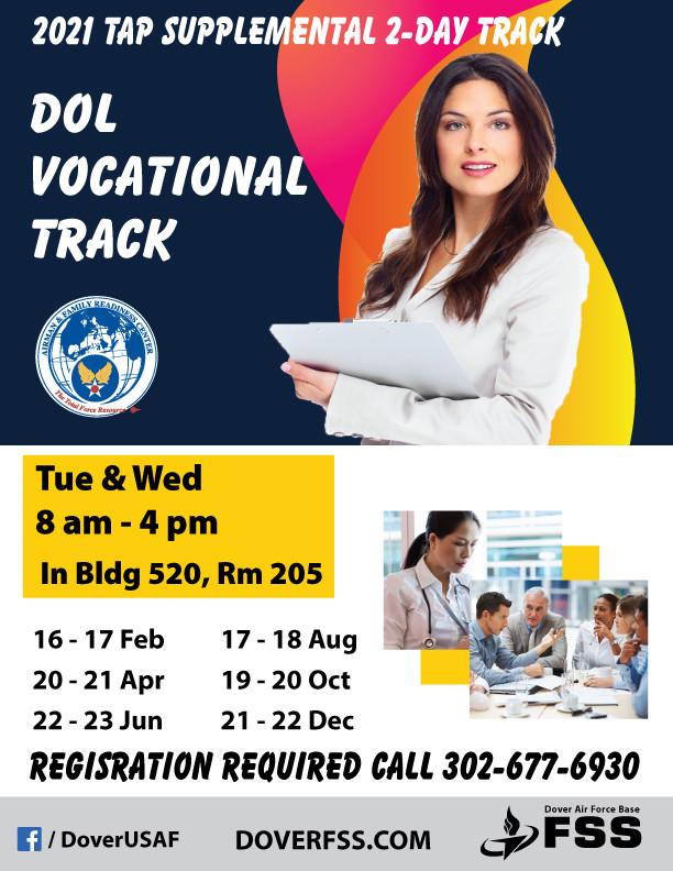 2021 TAP Supplemental DOL Vocational Track
