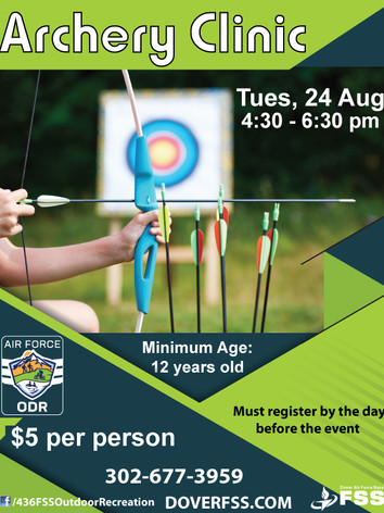 Archery Clinic 🎯