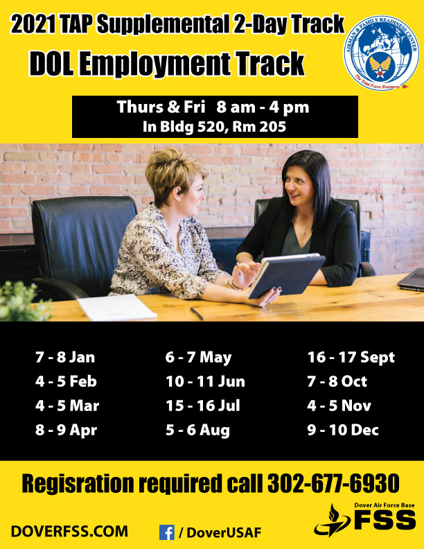 2021 TAP Supplemental DOL-Employment