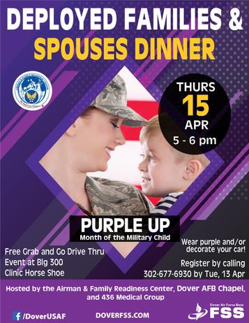Deployed Families Dinner
