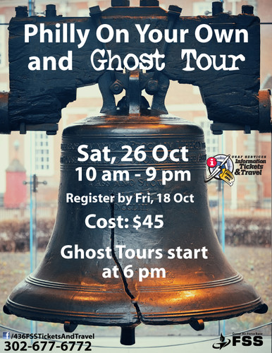 Philly Ghost Tour Oct 2019
