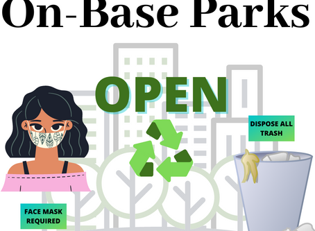 Parks are now OPEN