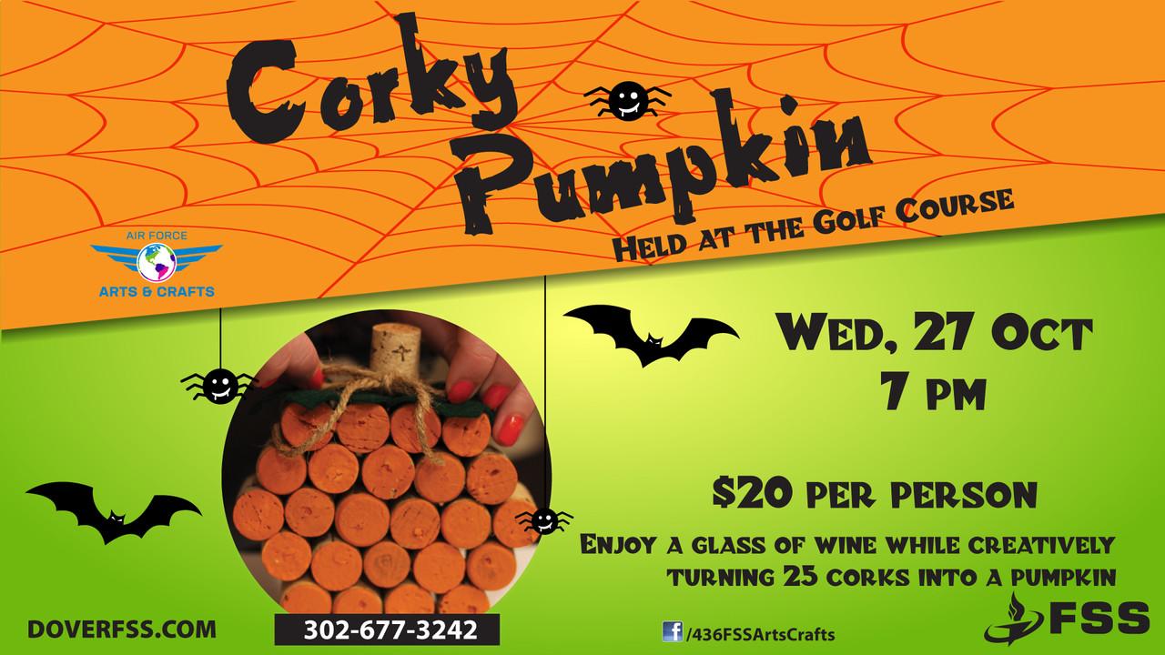 Corky Pumpkin