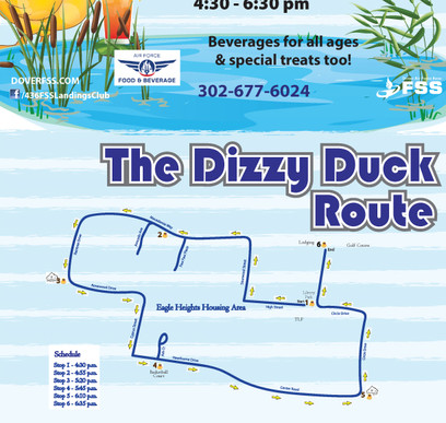 The Dizzy Duck Route