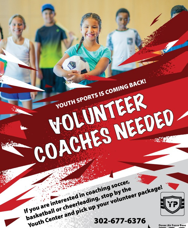 Youth Sports: Volunteer Coaches Needed