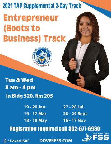2021 TAP Supplemental Entrepreneur