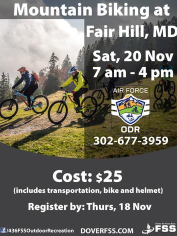 Mountain Biking 🚵♀️ at Fair Hill, MD