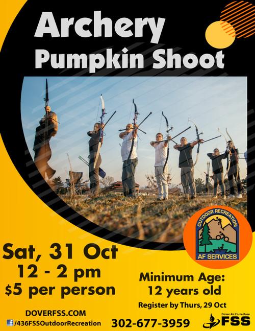 Archery Pumpkin Shoot