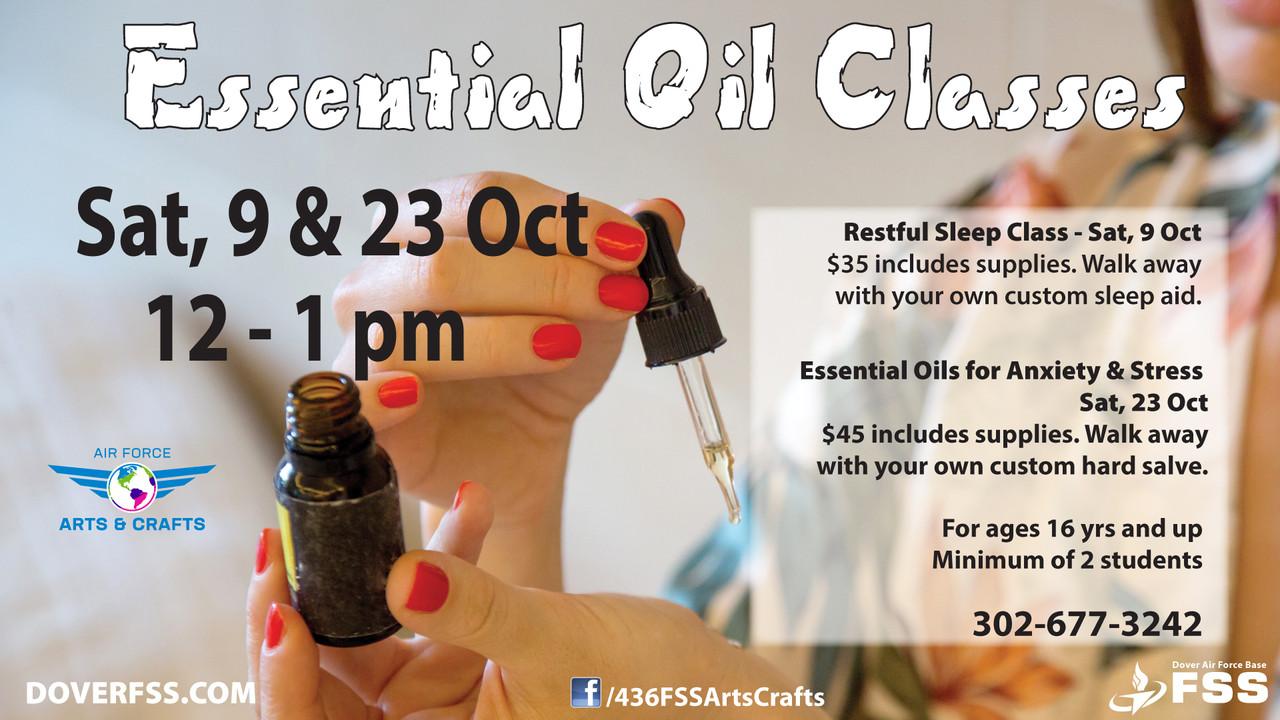 Essential Oil Classes