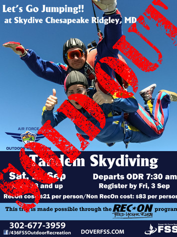 Rec On Skydiving