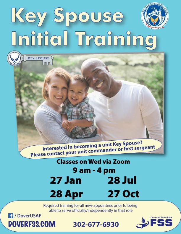 Key Spouse Initial Training