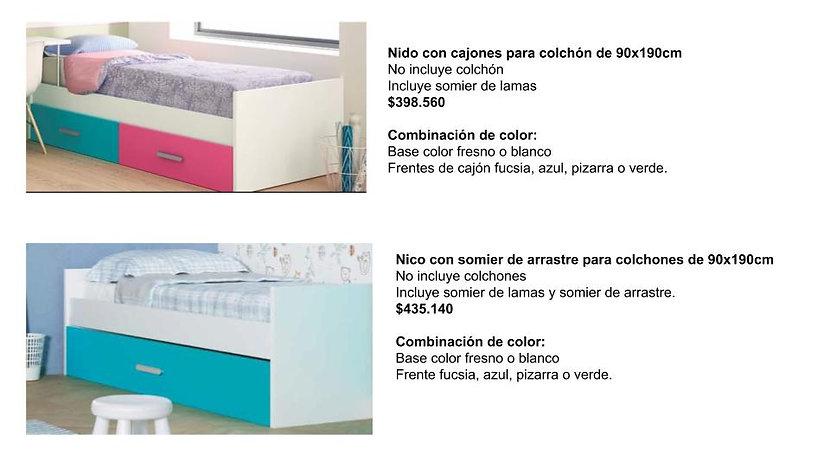 Muebles juveniles infantiles dormitorio