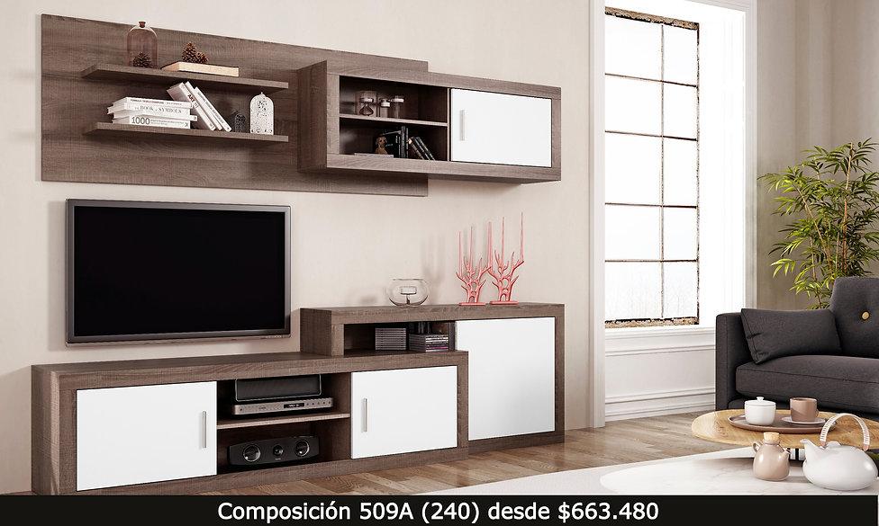 mueble tv living aparaodr repisa