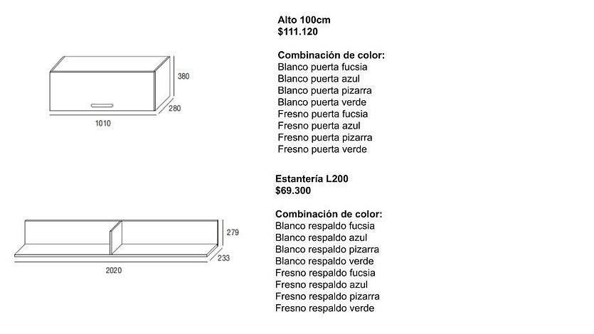 Muebles juveniles infantiles dormitorio.