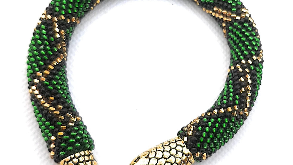 Pulsera Pyton verde
