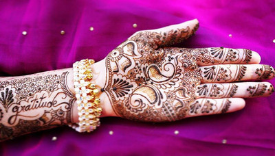 A Creation for a future Bride, Traditionnal Henna