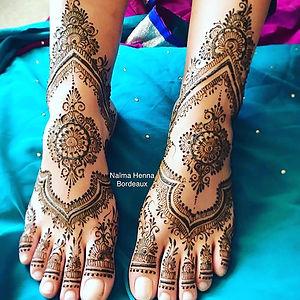 Bridal henna today 🌸Mehendi Indien__Ins