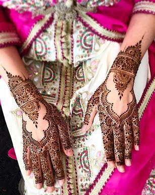 Motifs Henné Mariage