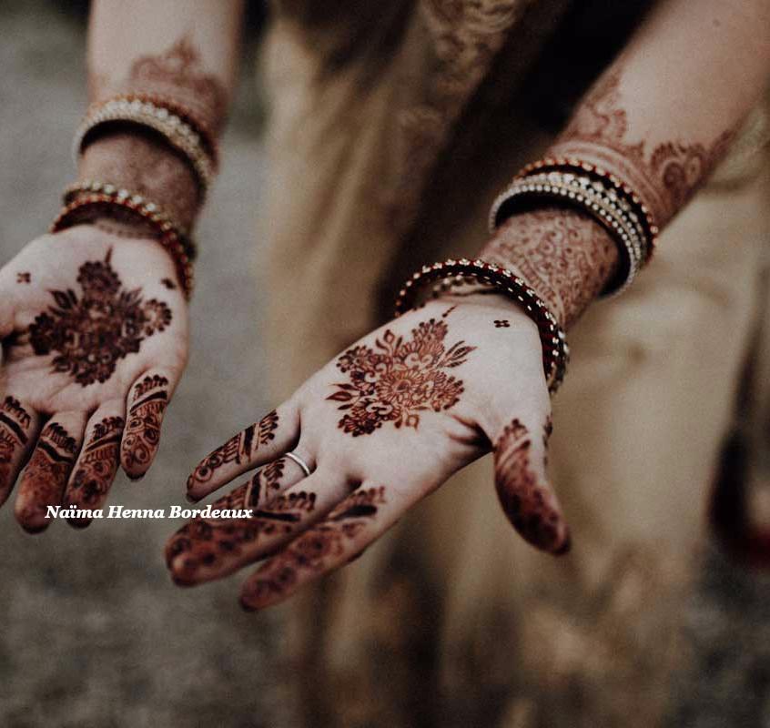 Bridal Henna, stain 2 days
