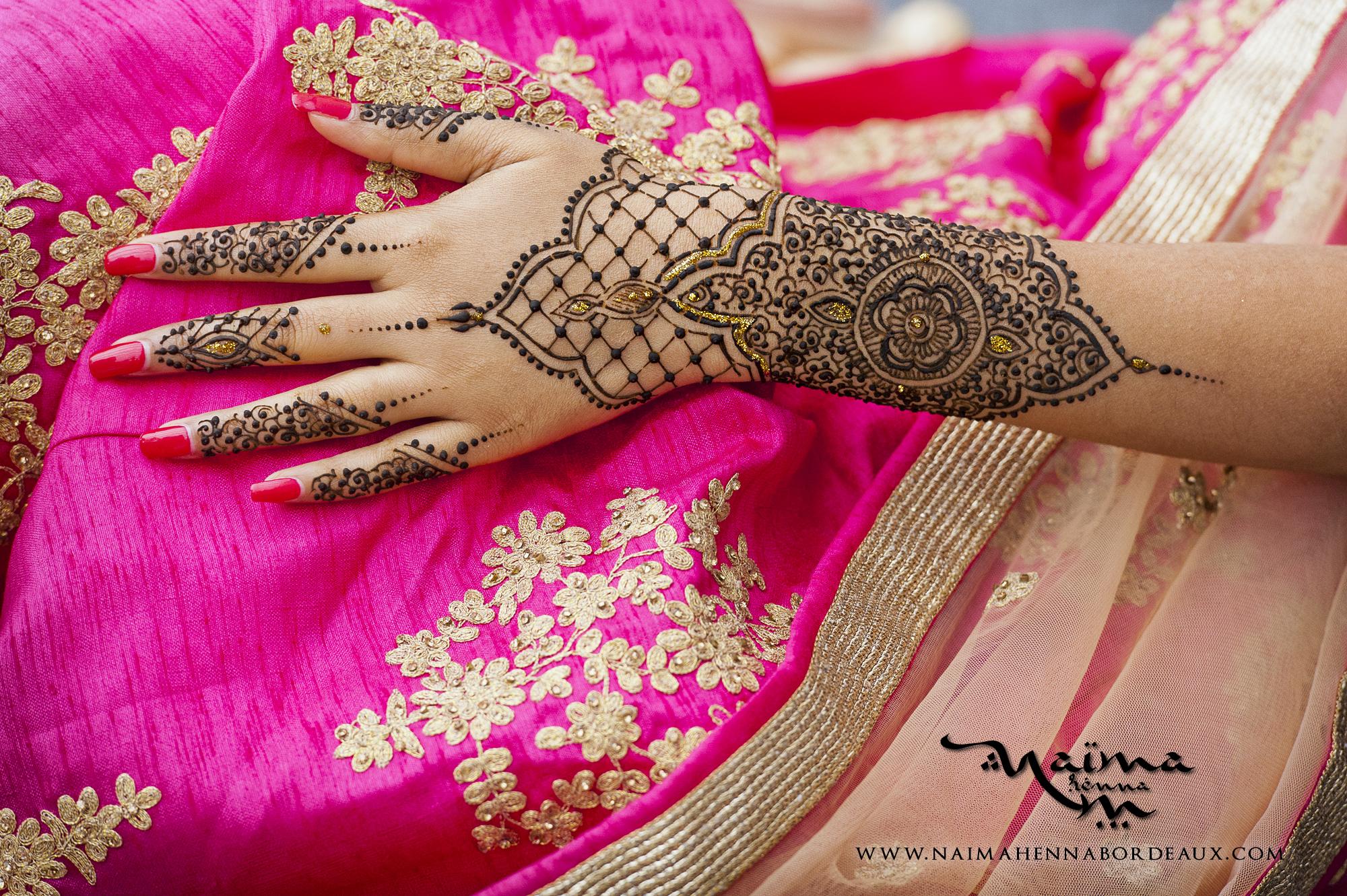 Bridal Henna Intricate design