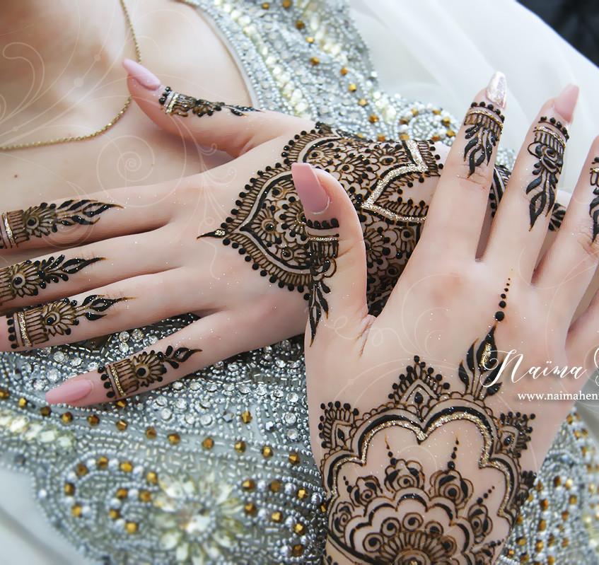 Bridal Henna, Henné mariée