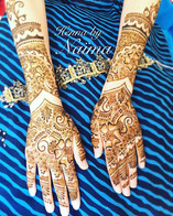 A full Traditionnal Henna for the Bride