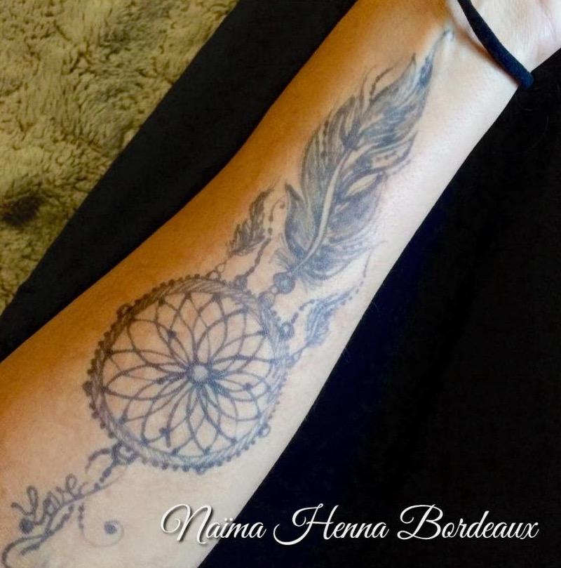 Jagua Tattoo sur Le Bras
