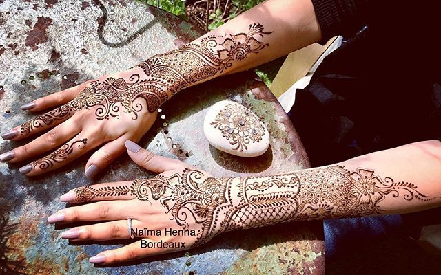 Henné style Indien _Bridal Mehendi _#bri