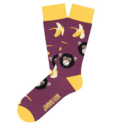 Calzini Jimmy Lion - Monkeys & Bananas