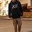 Thumbnail: 805 South Hoodie (Black w/White) ($45 incl. shipping)