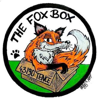 Logo dessiné de l'association The fox Box