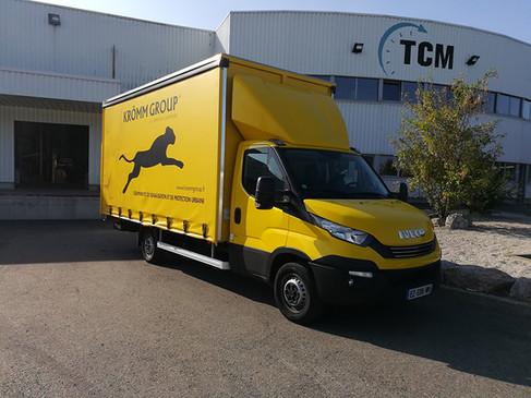 Bâche pour camion Krömm Group