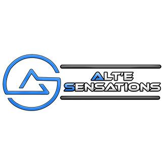 Ancien logo Alte Sensations en pixels