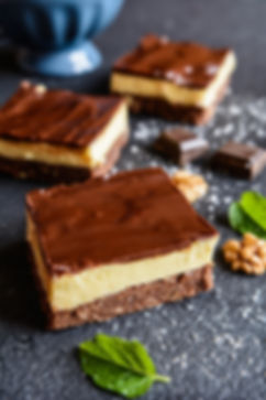 Nanaimo bars - traditional Canadian dess