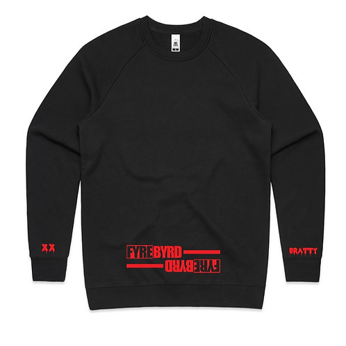 """Bratty On The Sleeve"" Crewneck Jumper"