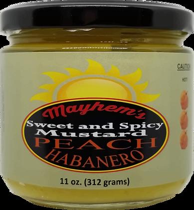 Sweet & Spicy Mustard Peach Habanero