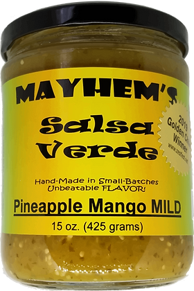 Salsa Verde Pineapple Mango Mild
