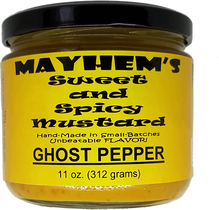 Sweet & Spicy Mustard Ghost Pepper