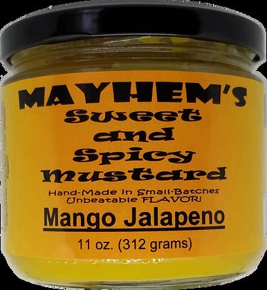 Sweet & Spicy Mustard Mango Jalapeno