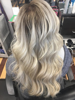 Super Blonde and Curly