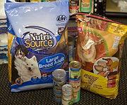 Pet supplies assistance donate to WeCAN Mound MN