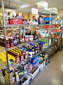 Food Shelf at WeCAN in Mound, MN