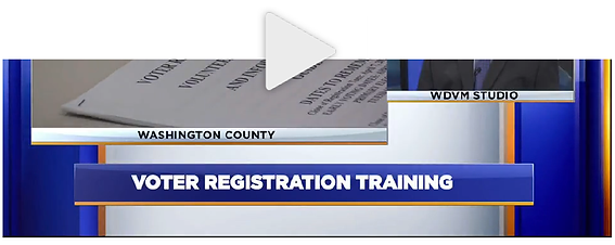 Board of Elections trains voter registra