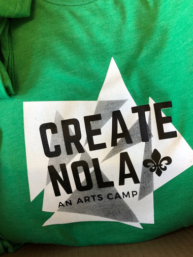Create NOLA Camp Tee