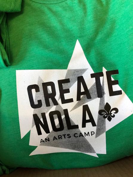 Create NOLA Camp Tee