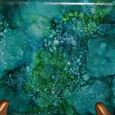 Green Blue A