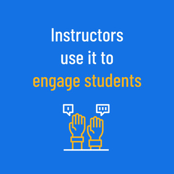 Instructors Use Yellowdig to engage students