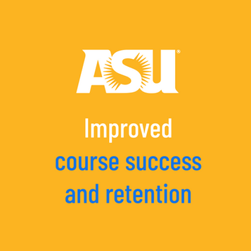 ASU improved Course Success and Retention