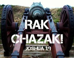 Rak Chazak!!